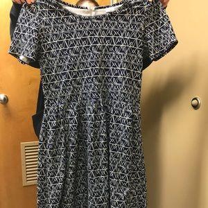 Cute LuLaRoe Dress! Amelia Style